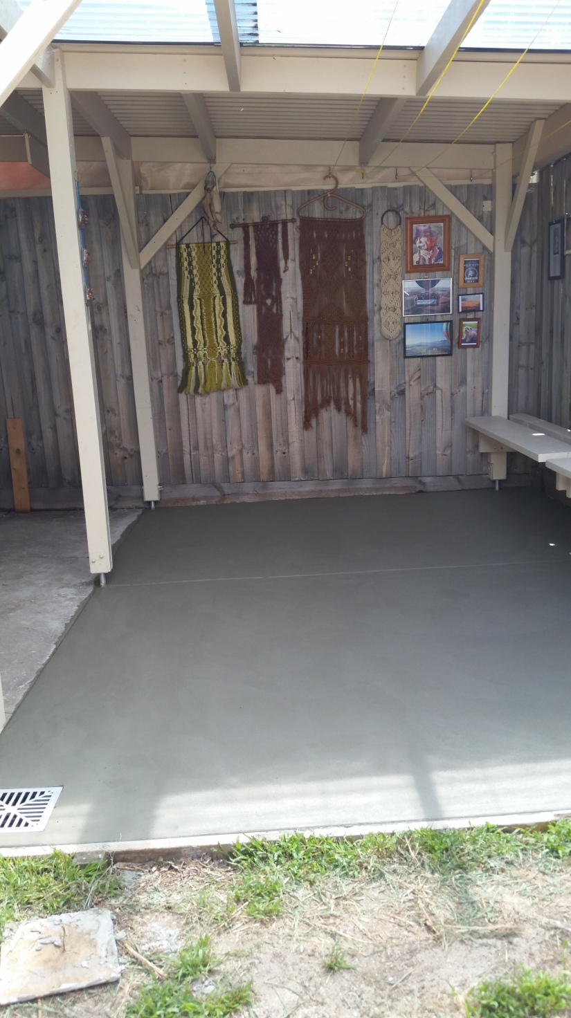Concrete Void….. The Concrete Void Has Been Filled!!