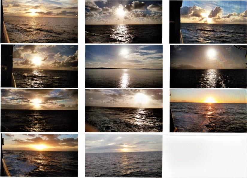 Eleven Shades Of OceanSunrises
