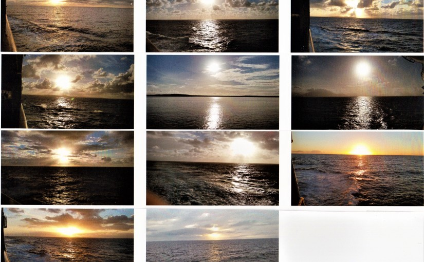 Eleven Shades Of Ocean Sunrises