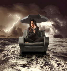 What is one of the worst emotional storms you've weathered in yourlife?