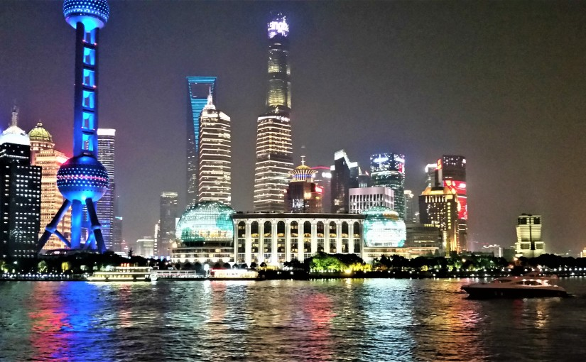 Shanghai, Old AndNew
