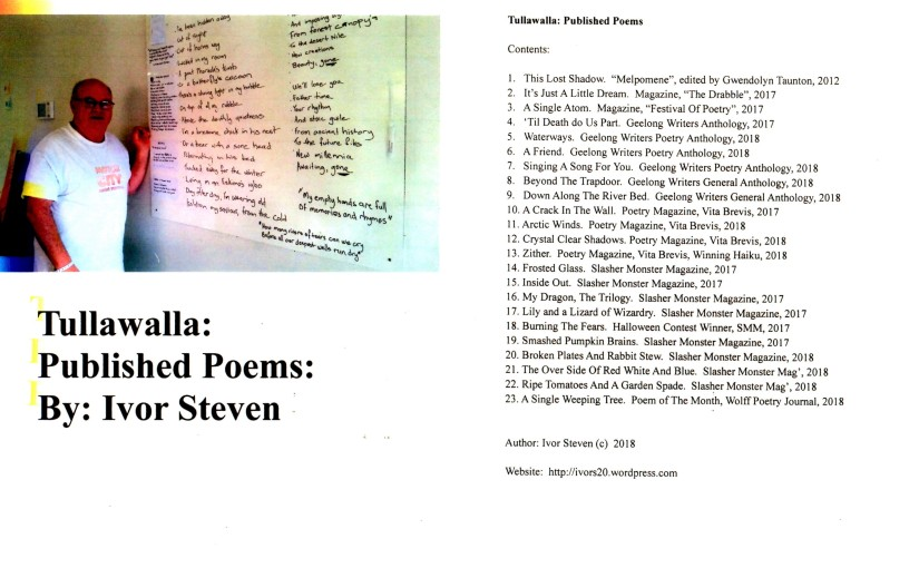Tullawalla: Published Poems