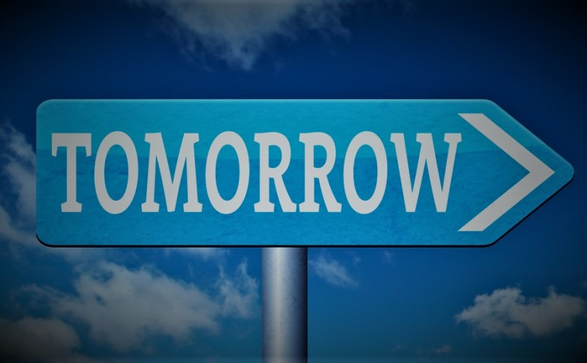 Today Brings Tomorrow(Revised)