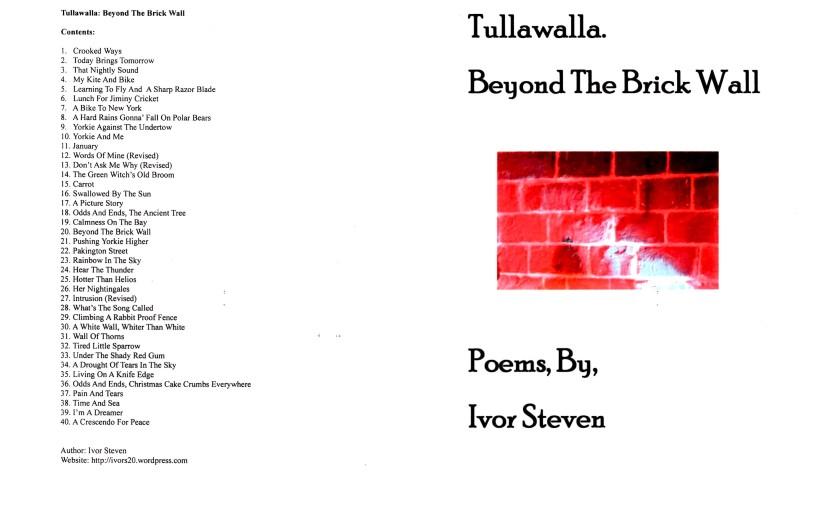 Tullawalla: Booklet #8