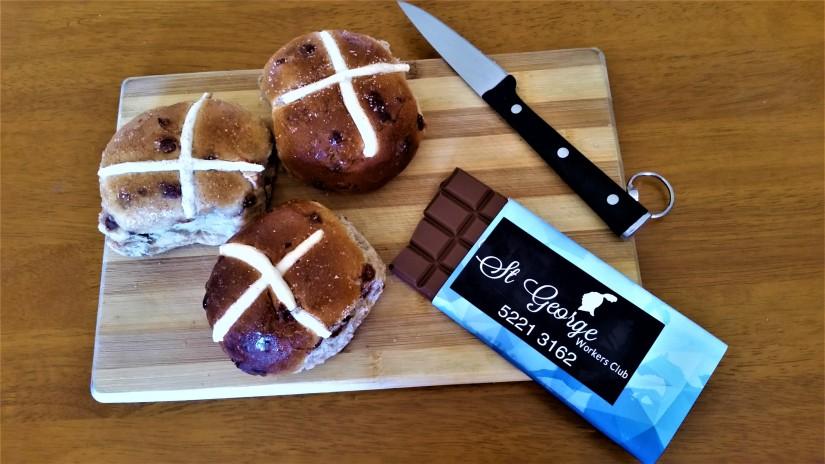 Hot Cross Buns AndChocolates