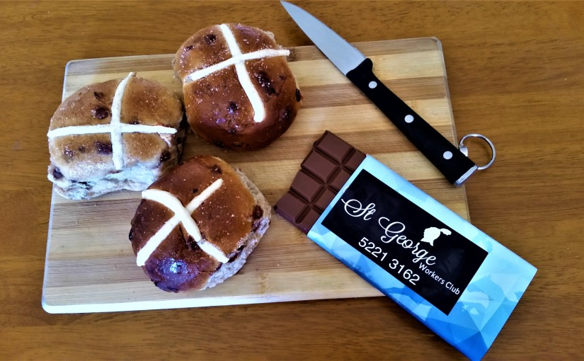 Hot Cross Buns And Chocolates