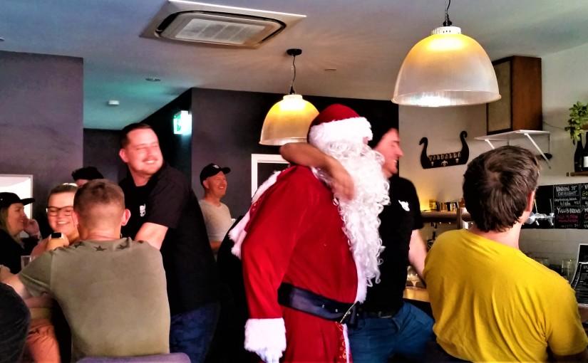 A Cheery Santa