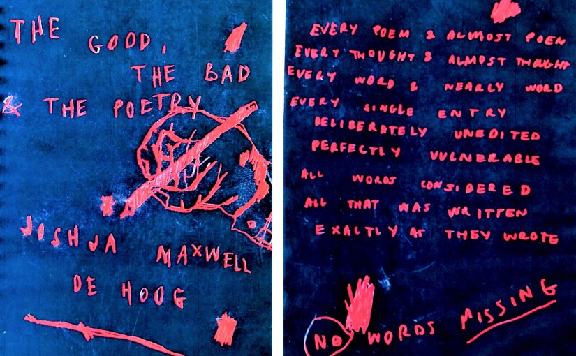 The Good, The Bad & The Poetry, by Joshua Maxwell de Hoog