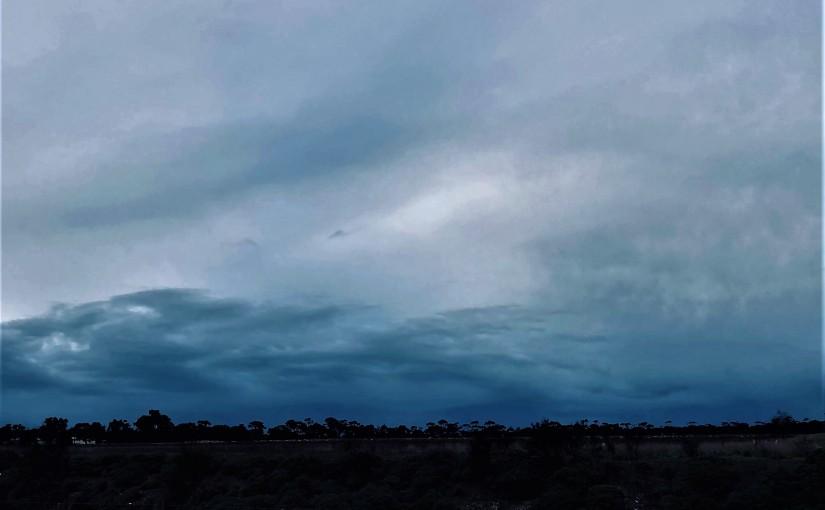 Icy Rain Again (aTanka)
